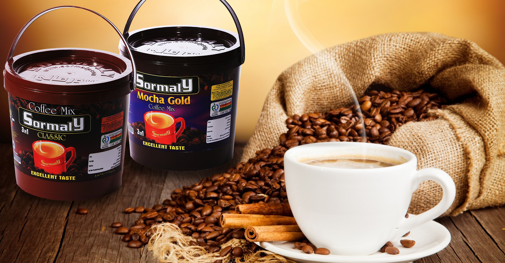 The true taste of coffee with Sormaly experience